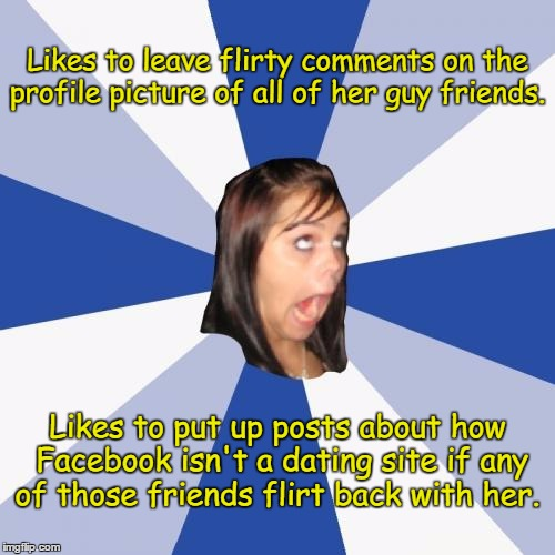 Facebook is not a dating site memes