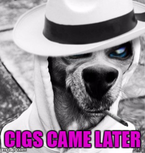 CIGS CAME LATER | made w/ Imgflip meme maker