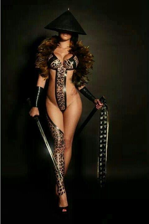 samurai art female Sexy