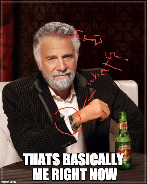 The Most Interesting Man In The World Meme | THATS BASICALLY ME RIGHT NOW | image tagged in memes,the most interesting man in the world | made w/ Imgflip meme maker