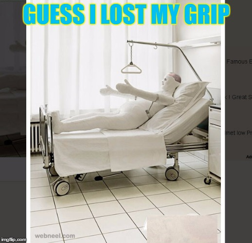 GUESS I LOST MY GRIP | made w/ Imgflip meme maker