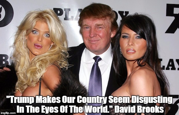 "David Brooks: ""Trump Makes Our Country Seem Disgusting In The Eyes Of The World"" 