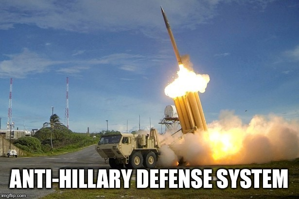 ANTI-HILLARY DEFENSE SYSTEM | made w/ Imgflip meme maker