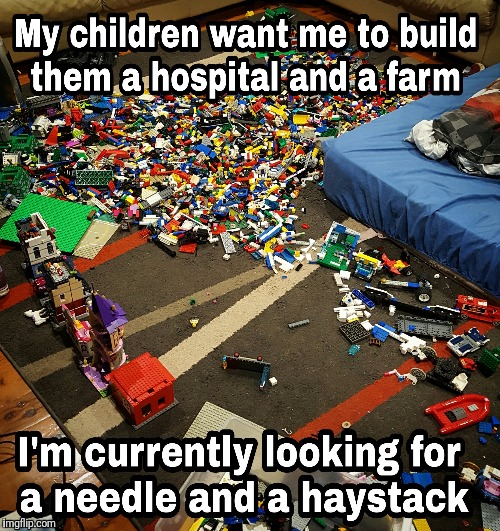 Lego torture...I mean fun. | image tagged in lego,needles | made w/ Imgflip meme maker