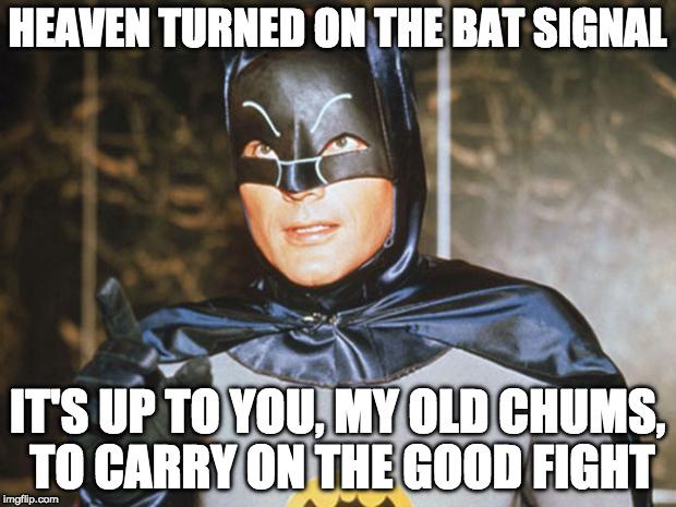 Resultado de imagen para batman speeches adam west