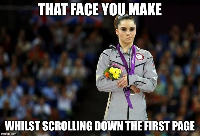 Image tagged in mckayla maroney,funny memes,funny,imgflip