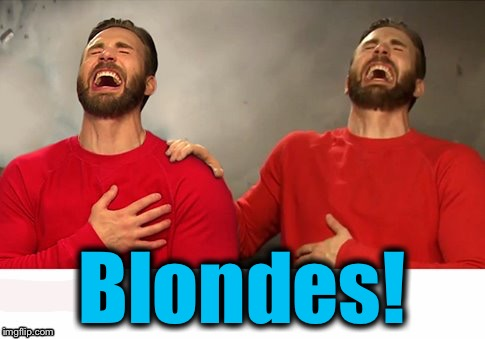 Blondes! | made w/ Imgflip meme maker
