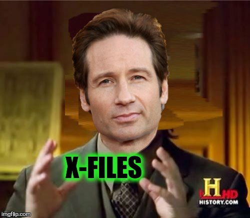 Fox Aliens | X-FILES | image tagged in fox aliens | made w/ Imgflip meme maker
