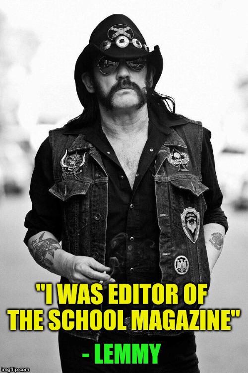 Lemmy | - LEMMY | image tagged in lemmy,quotes | made w/ Imgflip meme maker
