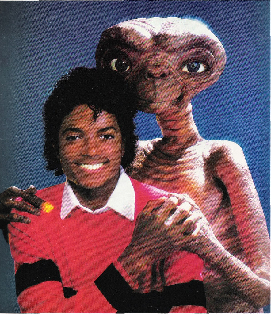 Michael Jackson E.T. Thank You Meme Template
