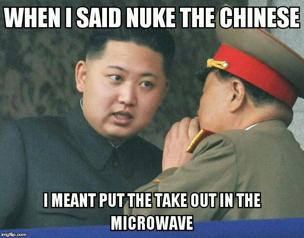 nuke the chinese | image tagged in nuclear explosion | made w/ Imgflip meme maker