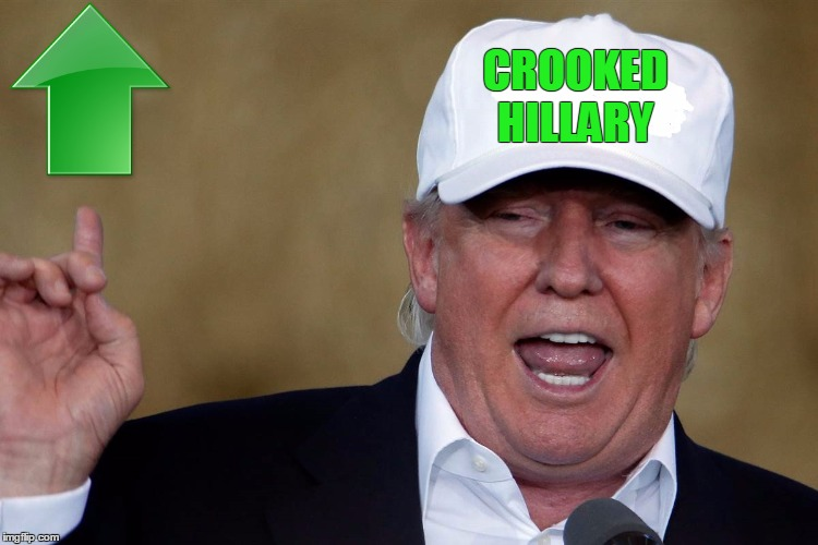 Donald Trump Blank MAGA Hat | CROOKED HILLARY | image tagged in donald trump blank maga hat | made w/ Imgflip meme maker