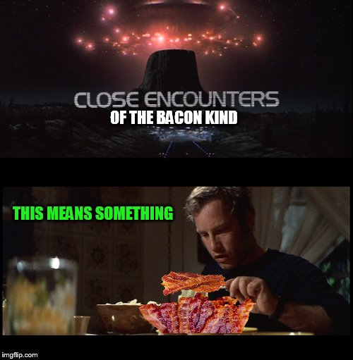 THIS MEANS SOMETHING OF THE BACON KIND | made w/ Imgflip meme maker