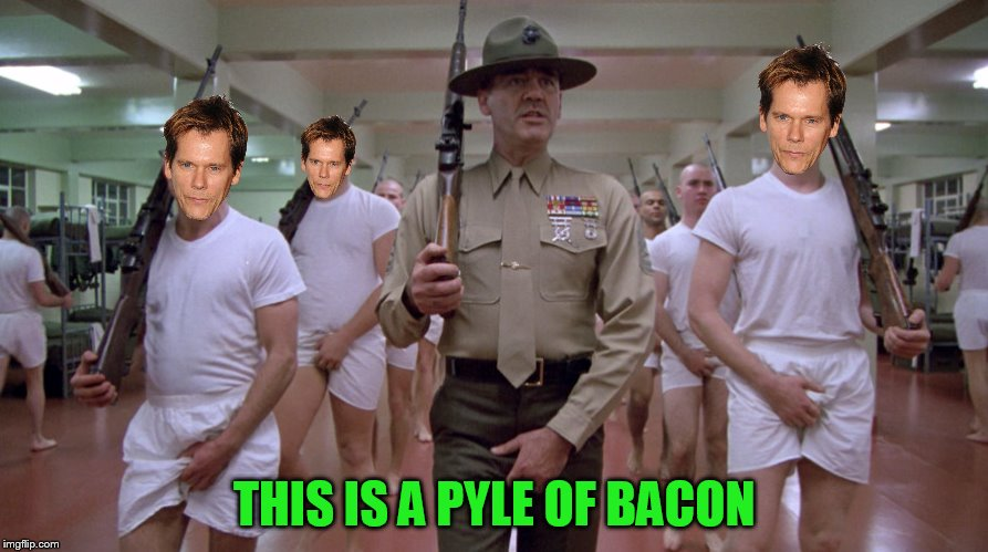 THIS IS A PYLE OF BACON | made w/ Imgflip meme maker