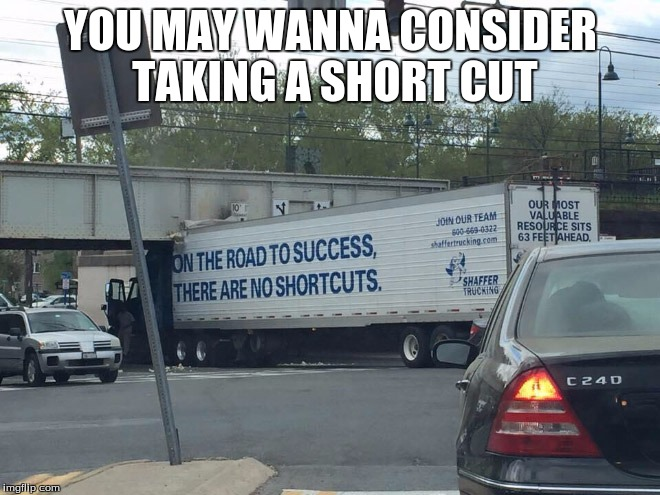 On the way to my way to the movies, and saw this | YOU MAY WANNA CONSIDER TAKING A SHORT CUT | image tagged in wtf | made w/ Imgflip meme maker