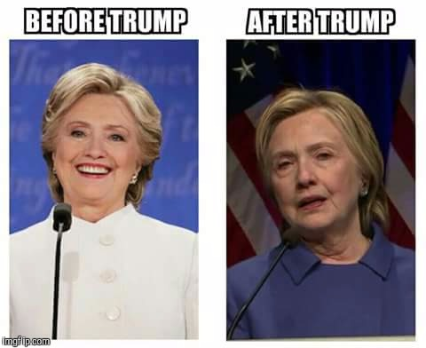 Tru story about bumper cars. | BEFORE TRUMP AFTER TRUMP | image tagged in memes,hillary clinton | made w/ Imgflip meme maker