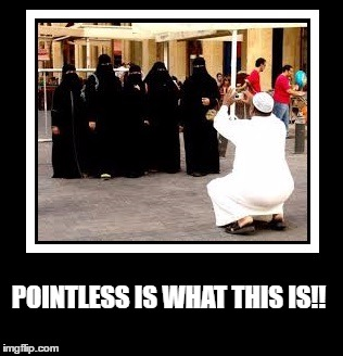 Pointless | POINTLESS IS WHAT THIS IS!! | image tagged in pointless picture,women undercover,ridiculous pictures | made w/ Imgflip meme maker