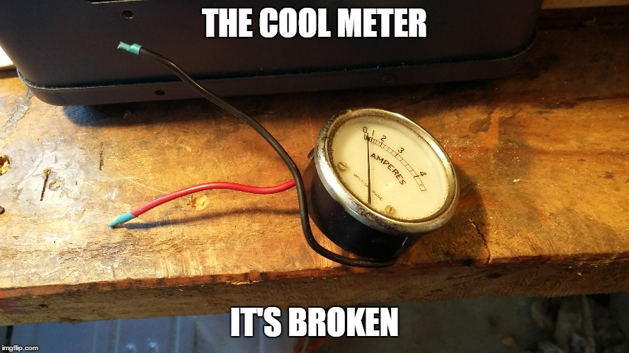 THE COOL METER IT'S BROKEN | made w/ Imgflip meme maker