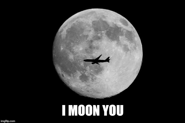I MOON YOU | made w/ Imgflip meme maker