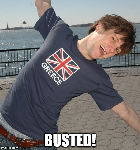 BUSTED! | made w/ Imgflip meme maker