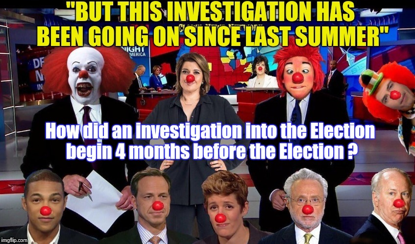 Not a personal attack on Donald Trump ? Oh , CNN , you've done it again | How did an investigation into the Election begin 4 months before the Election ? | image tagged in traitors,fake news,libtards,treason,mutiny | made w/ Imgflip meme maker