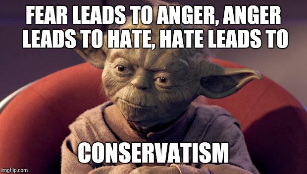 1r1w15 yoda wisdom imgflip,Fear Leads To Anger Meme