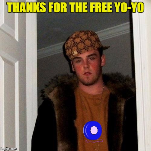 THANKS FOR THE FREE YO-YO | made w/ Imgflip meme maker