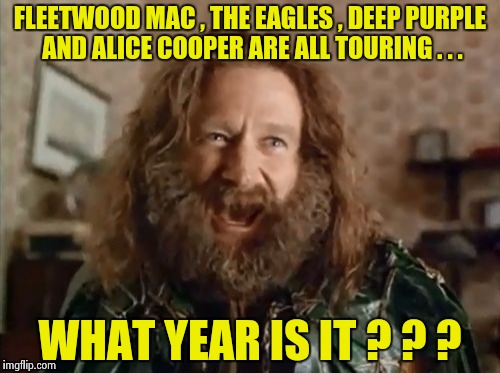"""Let's Do The Time warp Again"" - Rocky Horror Show 
