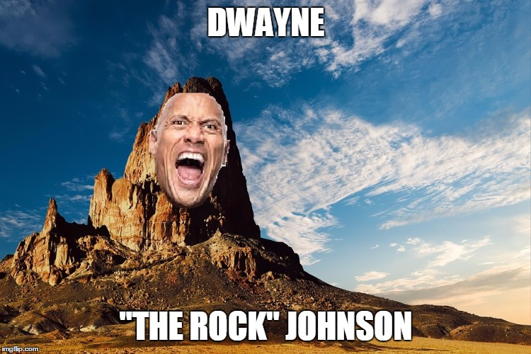 "When The Rock elvoves | DWAYNE ""THE ROCK"" JOHNSON 