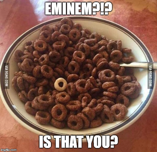 EMINEM?!? IS THAT YOU? | image tagged in eminem | made w/ Imgflip meme maker