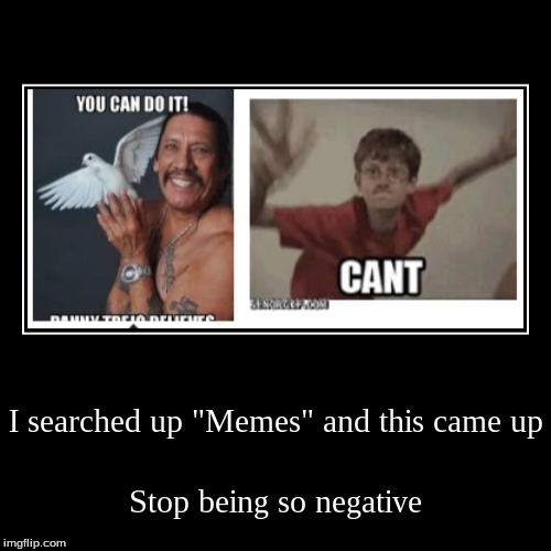 "I searched up ""Memes"" and this came up 