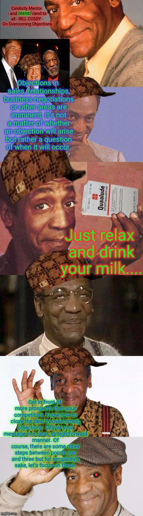 DIVERSE Just relax and drink your milk.... . | made w/ Imgflip meme maker