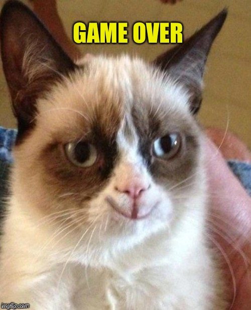 GAME OVER | made w/ Imgflip meme maker