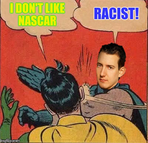 "I never realized just how many ""racists"" there are 