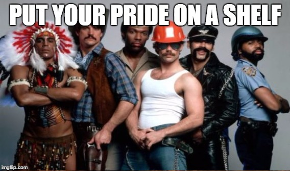 PUT YOUR PRIDE ON A SHELF | made w/ Imgflip meme maker