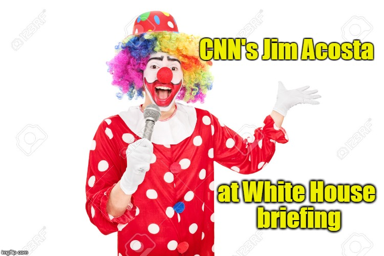 Image result for jim acosta Clown Images