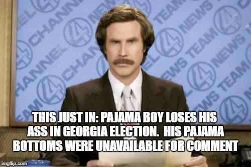 Pajama Boy Loses His Ass Imgflip