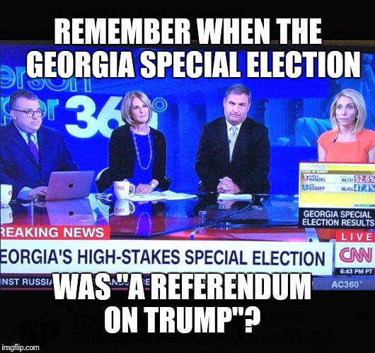 "Pepperidge Farm remembers...  | REMEMBER WHEN THE   GEORGIA SPECIAL ELECTION WAS ""A REFERENDUM ON TRUMP""? 