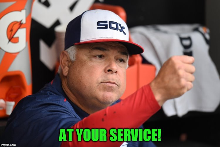 AT YOUR SERVICE! | made w/ Imgflip meme maker