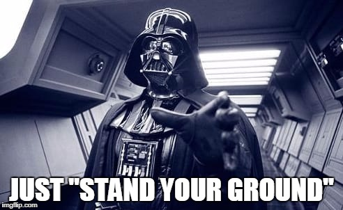 "Vader | JUST ""STAND YOUR GROUND"" 