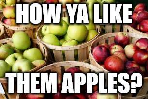 How Ya Like Them Apples Imgflip