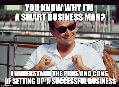 pros and cons of dating a businessman Here's an example chinese people are smaller on average is there pros or cons to that in dating, sexual situations now take that and apply it to black girls.