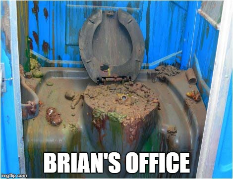 BRIAN'S OFFICE | made w/ Imgflip meme maker