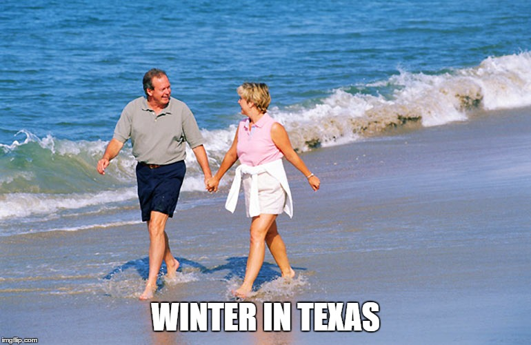 WINTER IN TEXAS | made w/ Imgflip meme maker