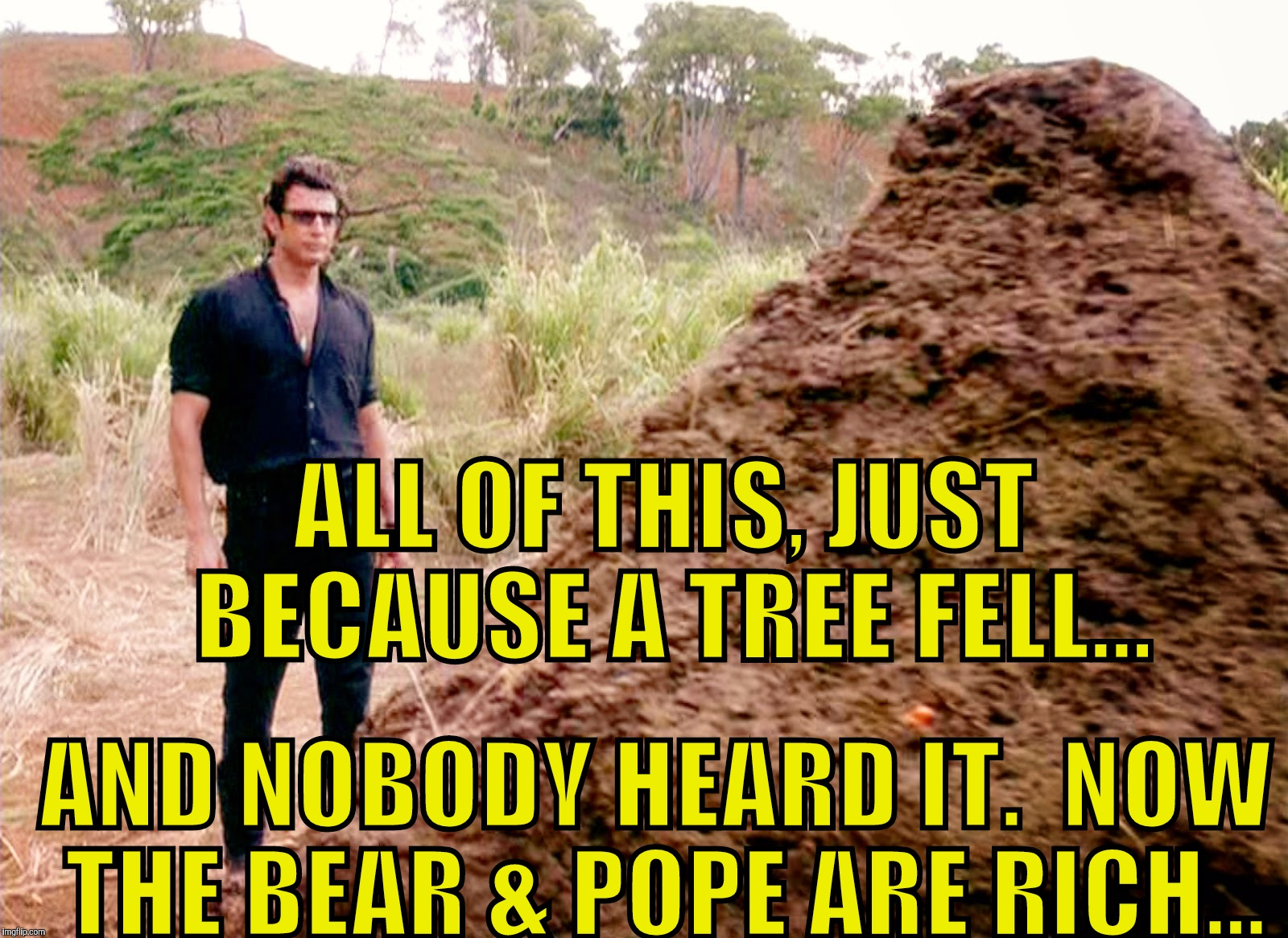"""One Thing Leads To Another, then Another, then Another..."" 