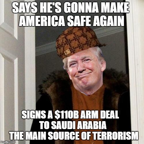 Scumbag Trump