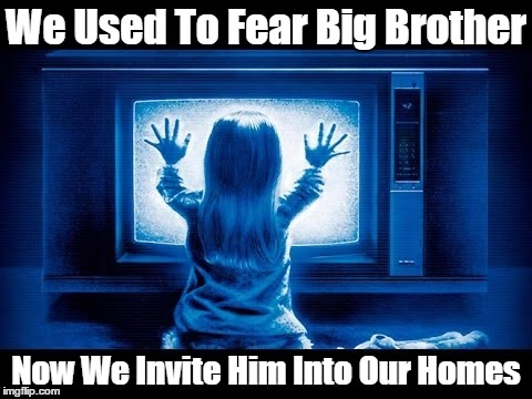 We Used To Fear Big Brother Now We Invite Him Into Our Homes | made w/ Imgflip meme maker