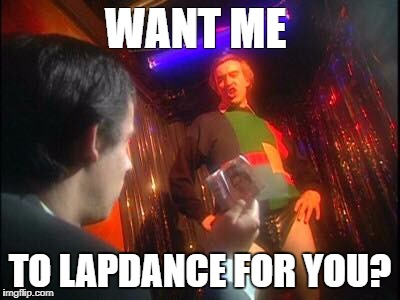 "Alan ""The Stripper"" Partridge. 
