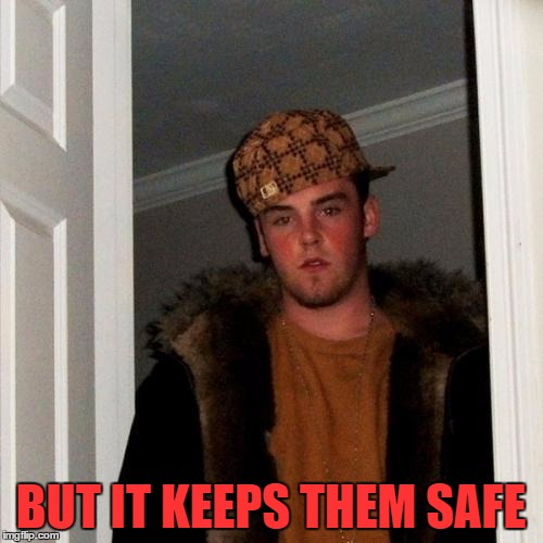 BUT IT KEEPS THEM SAFE | made w/ Imgflip meme maker