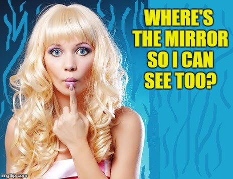 WHERE'S THE MIRROR SO I CAN SEE TOO? | made w/ Imgflip meme maker